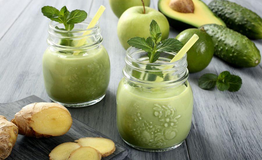 Smoothie opskrift med avocado, æble og ingefær