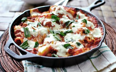 Vegetar Lasagne m. spinat (spinatlasagne)