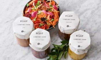 Simple Feast - 100% økologiske lunende vegetariske gryderetter - lige til at servere på 10 min.