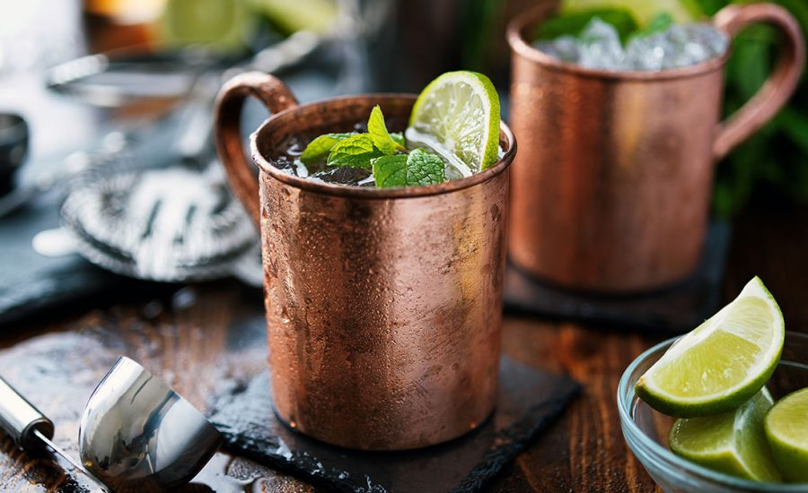 Moscow Mule drink opskrift