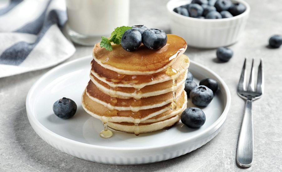 Amerikanske Pandekager - Opskrift på lækre og luftige amerikanske pandekager.