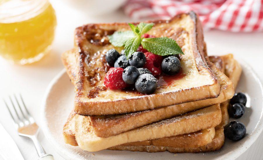 French Toast opskrift - opskrift på lækre french toasts, også kendt som arme riddere