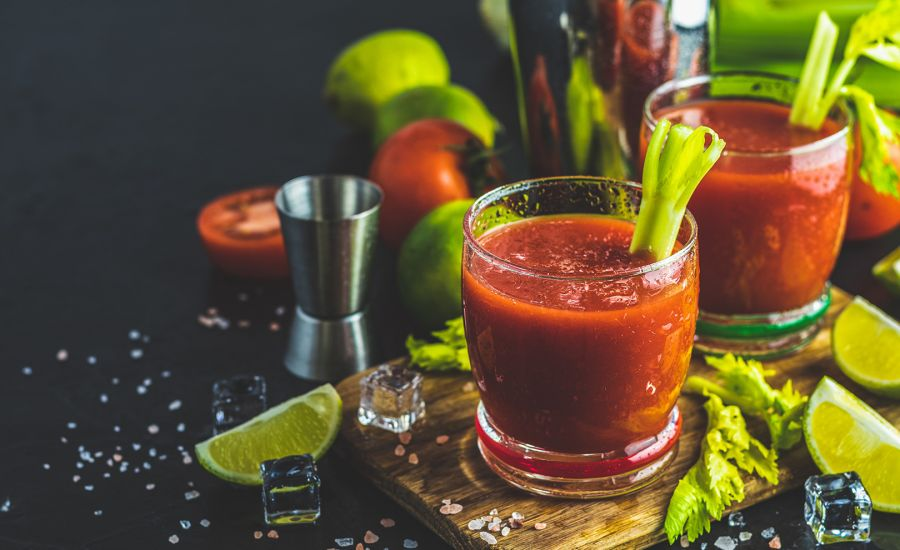 Bloody Mary Drink Opskrift